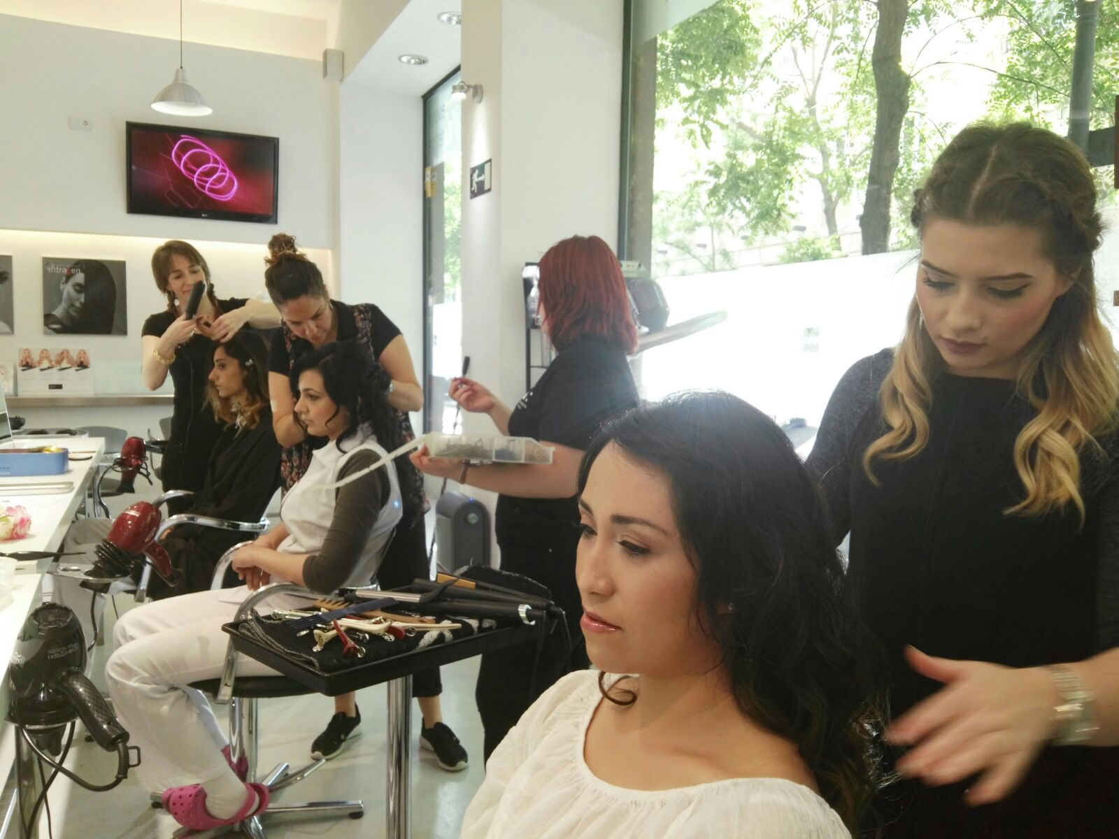 formacion peluqueria profesional alumnas