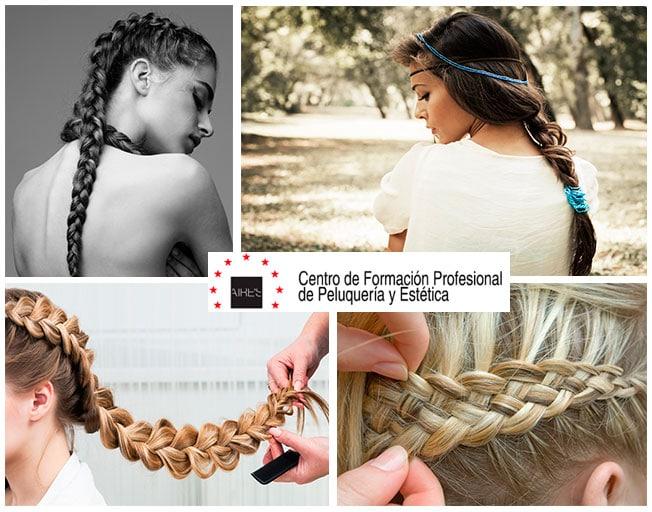 Trenzas everywhere: el peinado 'must' para cualquier celebración