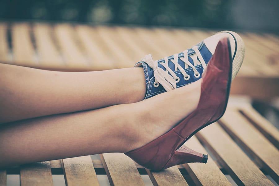zaptos vs sneakers